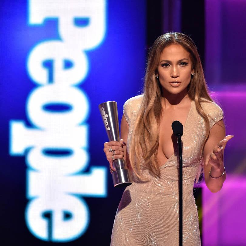Jennifer Lopez en People Awards