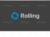 Rolling Logo Template