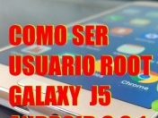 como ser usuario root en Marshmallow Galaxy J5