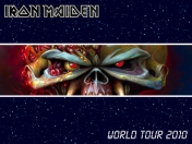 Maiden: wallpapers the final frontier tour 2010
