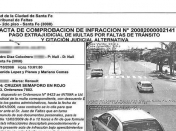 Inhabilitación del Registro de Conducir (multas de transito