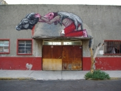 Graffiti Animal por ROA ...