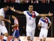 Vidal a toda maquina hace que Chile Gane