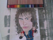 Mi dibujo a lápices de Ronnie James Dio