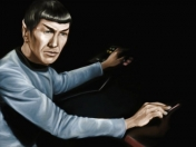 Mi Speed painting - Leonard Nimoy