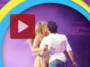 Marc Anthony quiso robarle un beso a Jennifer Lopez