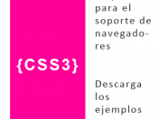 Manual en castellano Css3 - Prefijos