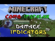 Minecraft 1.5.1 - Tutorial Como instalar Damage Indicators