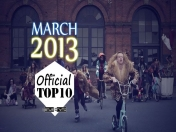 Top 10 Official Music Video Marzo/March 2013
