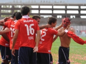 Independiente goleó a Racing
