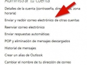 Utilizar GMail desde Outlook.com