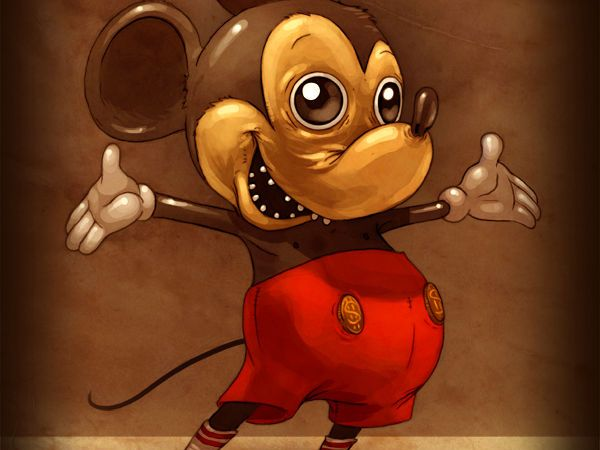 el video prohibido de mickey mouse - animaciones