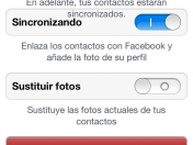 Sincronizar Fotos de los Contactos del iPhone con las de Fac