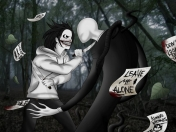 Jeff The Killer VS Slenderman-Creepypasta