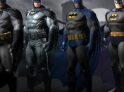 Los trajes alternativos de Batman: Arkham City