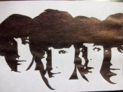 The Beatles, dibujos caricaturas.