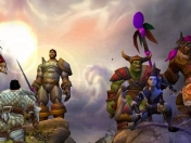 Las primeras screenshot de World of Warcraft