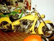 Motos chopper grosas