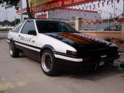 Initial D - Vehiculos reales
