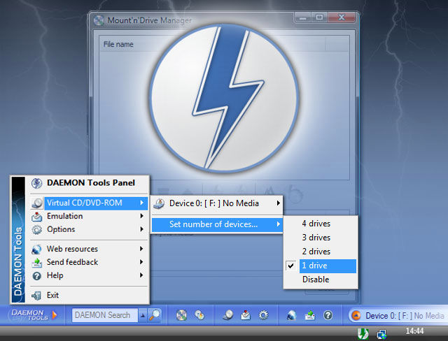 DAEMON TOOLS PARA WINDOWS VISTA
