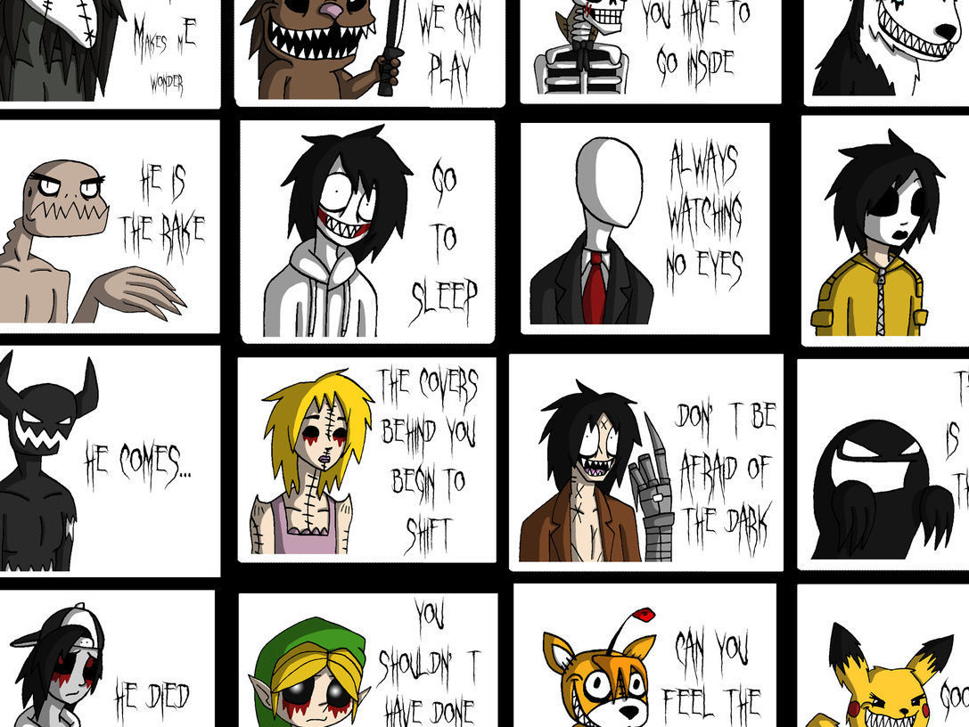 Anime Characters Catchphrases : Creepypasta names pictures to pin on pinterest daddy