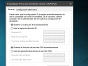 Cambiar o configurar los DNS en Windows 10