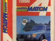 Mazo de cartas Match4 Autos Turbo
