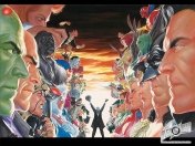 Los Heroes y Villanos de Alex Ross & Wallpapers