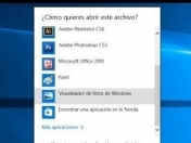 El Visualizador de fotos de Win7 en Win 10