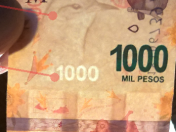 Como reconocer un billete de $1000