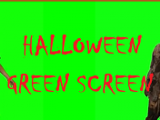 Halloween green screen 2018