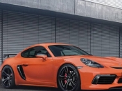 Porsche Cayman GT4 con 400cv modificado por TechArt