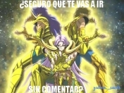 Imagenes saint seiya para decorar tu post