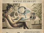 Posters Neo-Retro (RedesSociales)
