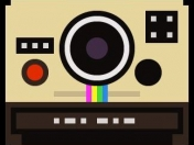 A collection of 100 pixelated camera illustrations
