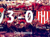 River 3 - Union 0 - River y River Plate