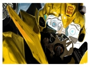 dibujo transformers cover (bumbleblee)