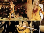 Kill Bill - Uma Thurman apretadita en látex