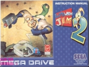 Manual original - earthworm jim 2 - sega genesis