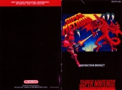 Manual original  super metroid super nintendo