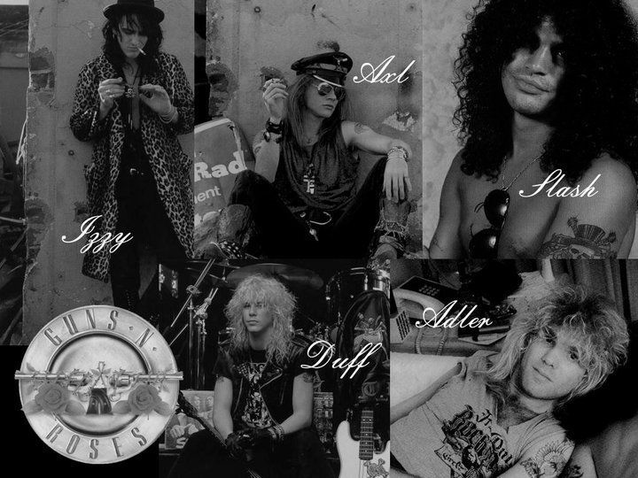 Guns n roses november rain videos on line taringa - Wallpaper guns and roses ...
