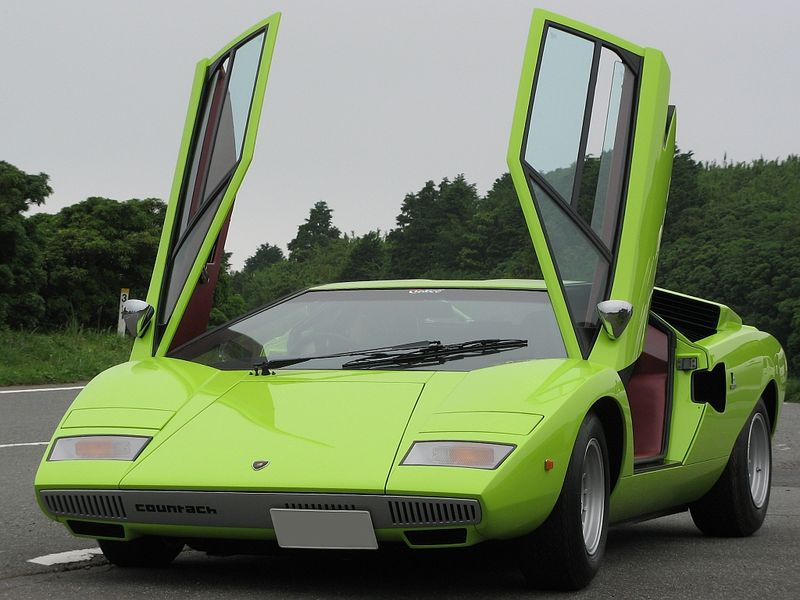 lamborghini countach lp400 1974 el primero autos y motos taringa. Black Bedroom Furniture Sets. Home Design Ideas