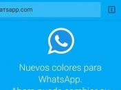 WhatsApp en colores, otro intento de estafa