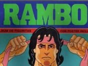 Album figuritas Rambo (Cromy 1986)
