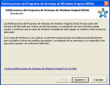 Quitar ventana instalaci n wga windows xp reviews taringa for R rating for windows