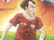Independiente | Murales en el estadio LDA