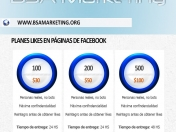 Venta de likes - BSA Marketing
