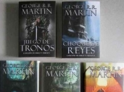 Cancion de hielo y fuego - Libros [Game of Thrones]