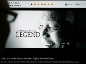 El archivo de Nelson Mandela, disponible en la web