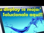 Arreglar un Display mojado - Laptop -